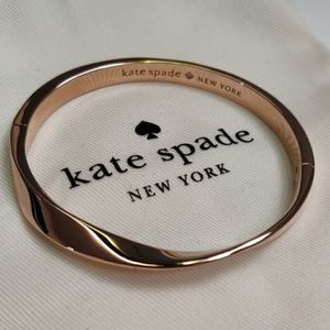 Kate Spade Rose Gold Twist Bangle